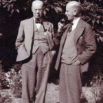 Adam's great grandfather Leonard's brothers, Henry Newmarch and Herbert Newmarch in Greytown, South Africa, in the 1920s  - Photograph courtesy of Belinda Pascal