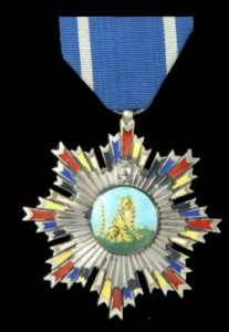 Leonard Newmarch's Order of the Striped Tiger