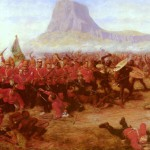 Figure 3: The Battle of Isandhlwana by Charles Fripp
