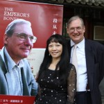 Publication of the Chinese version of The Emperor's Bones celebrated at the Beijing Bookworm