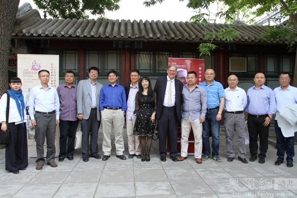 Adam Williams with Writers, Critics, Journalists and Publishers  (China Club, 14 May 2013)
