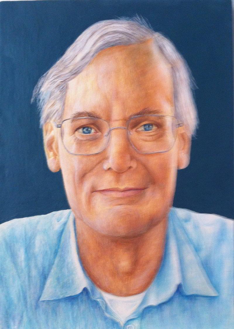 Adam Williams portrait by Marco Fulvi
