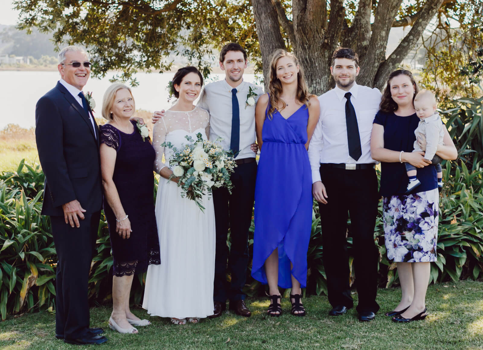 Philip Coetzee (far left) and family in New Zealand 2017