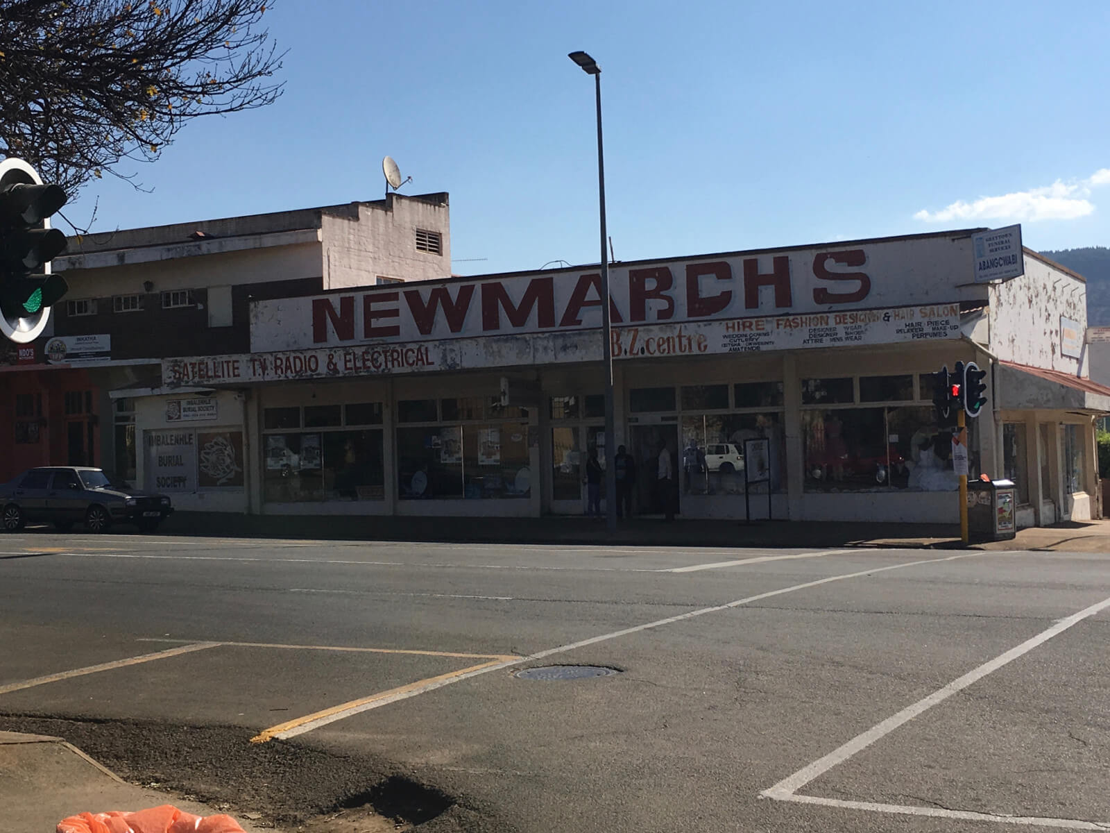 Greytown High Street – the Newmarch store
