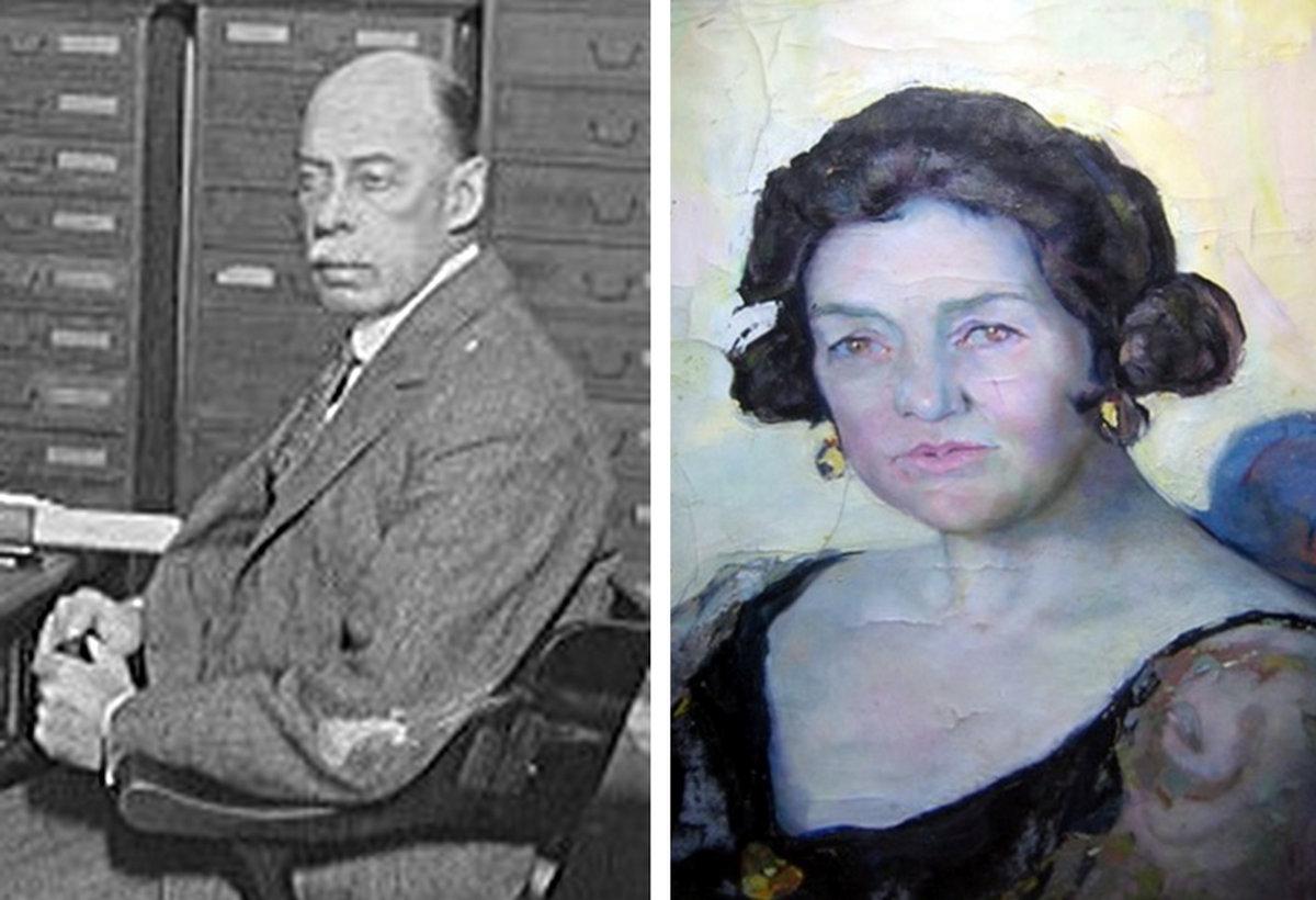 Leonard and Sadie Newmarch