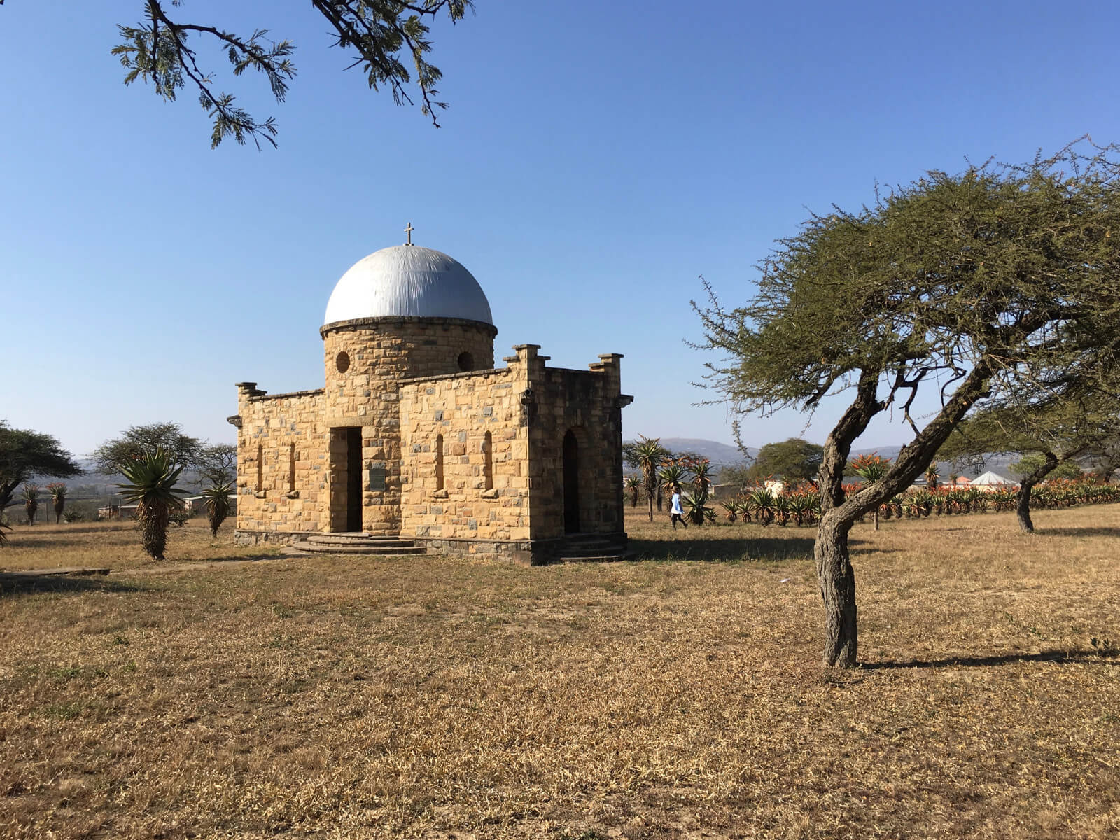 The Monument to British victory at Ulundi 4th July 1879